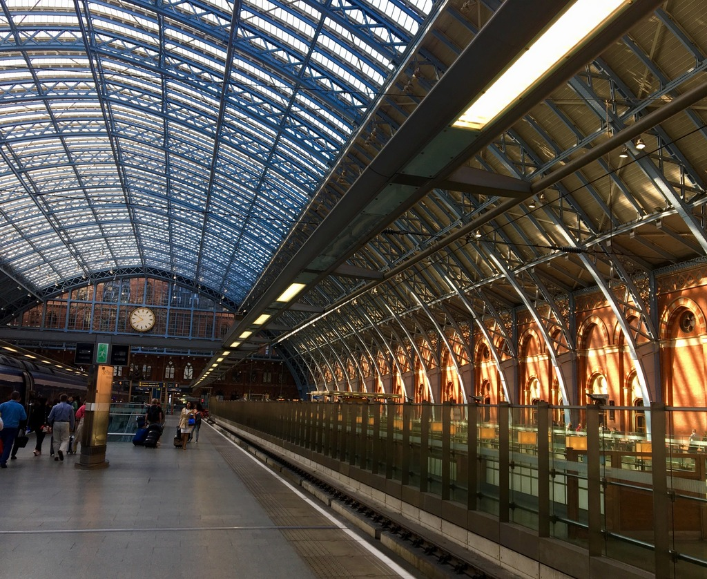 Kings Cross St Pancras Euro Star