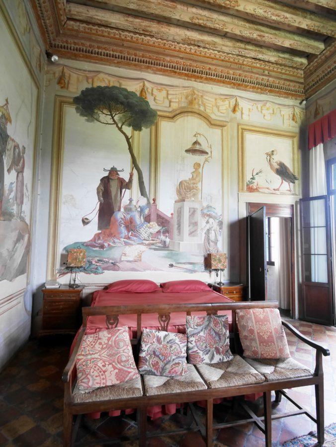 Vicenza - Villa Valmarana - Guest Quarters