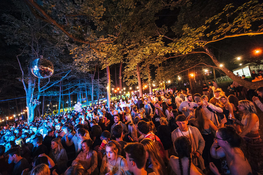 Latitude 2017 Forest party