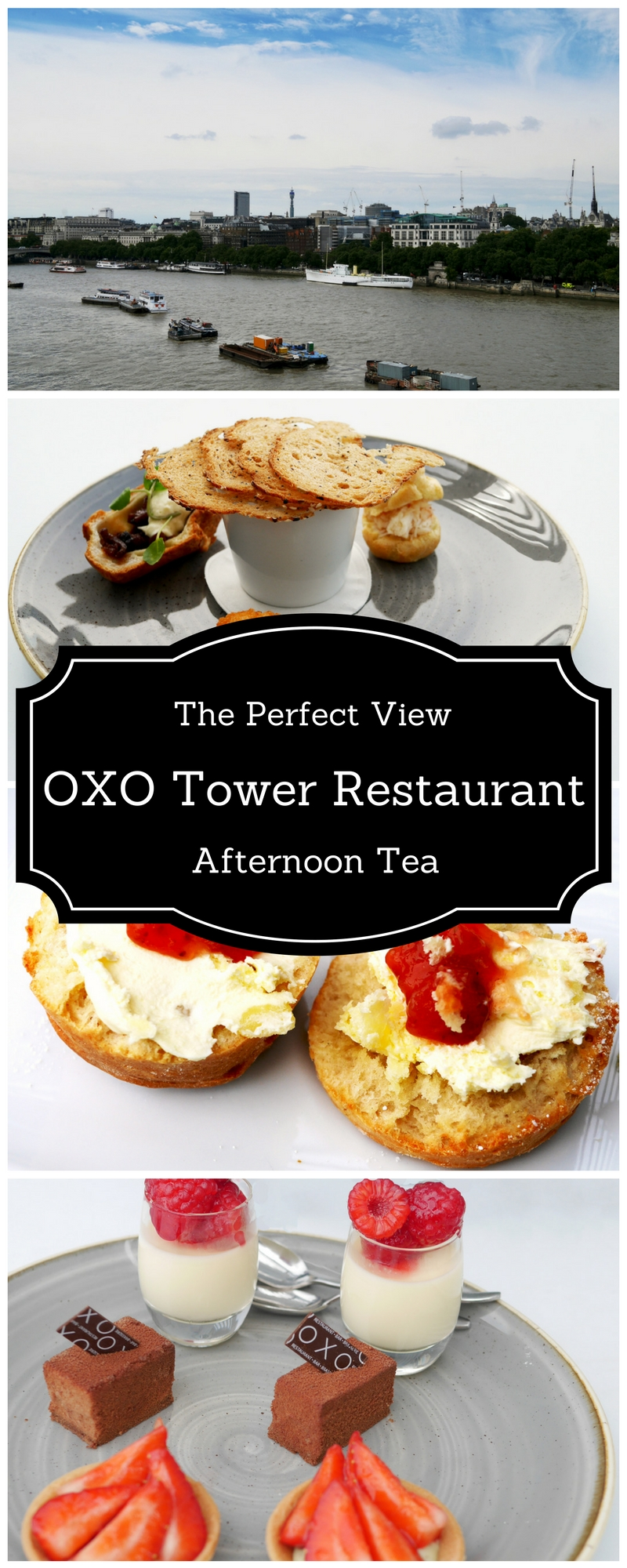 Afternoon Tea at Oxo Tower Restaurant, London South Bank - Afternoon Tea with a View