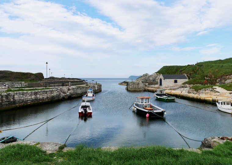 Ballintoy Harbour Northern Ireland