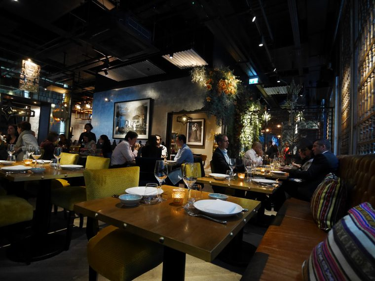 COYA angel court restaurant
