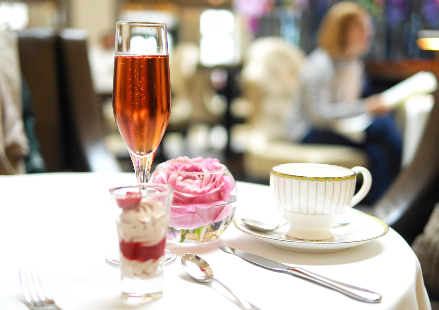 Champagne - Corinthia Hotel London Afternoon Tea