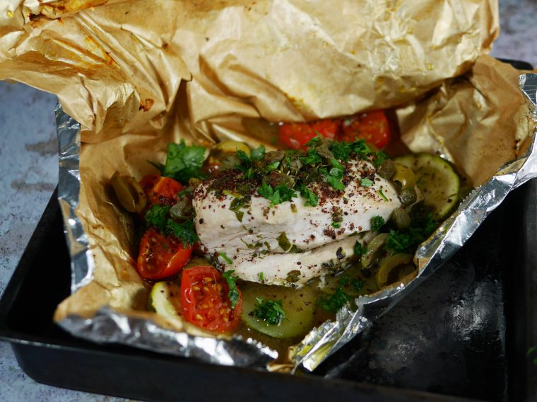 Chicken Breast en Papillote