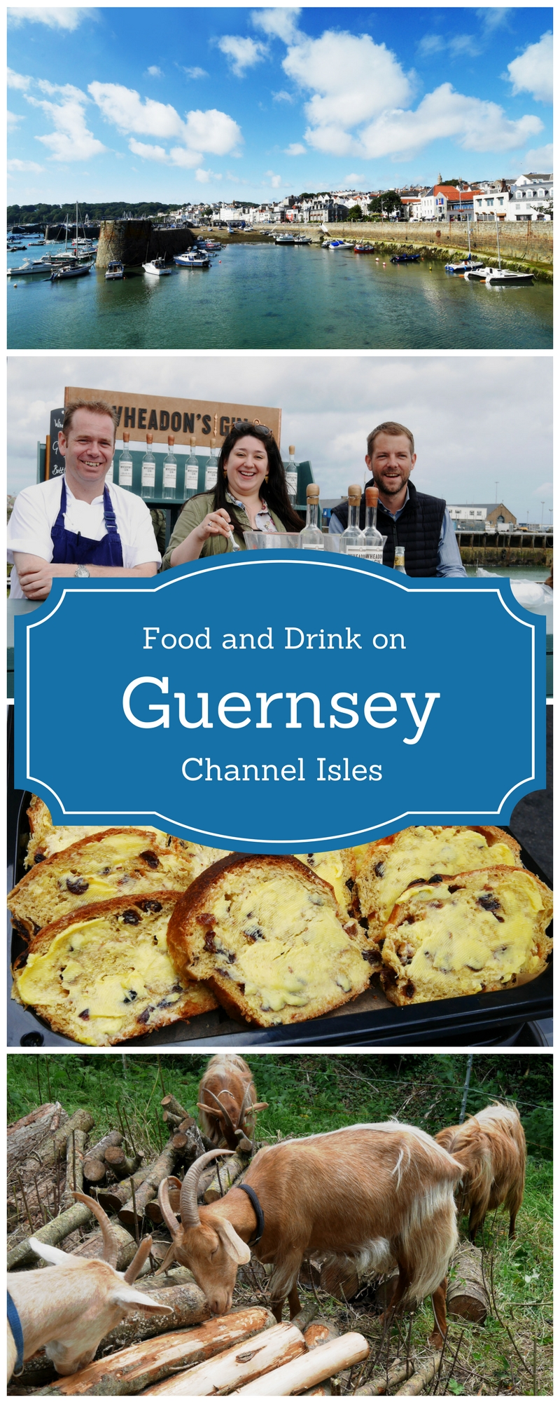 Food and drink on Guernsey - Seafront Sunday at St Peter's Port Guernsey - a preview of the Guernsey Food Festival