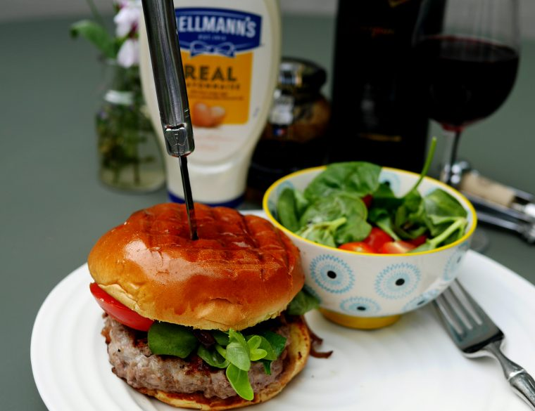 Home Made Beef Burger