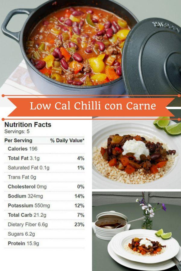 Low Cal Chilli con Carne Recipe