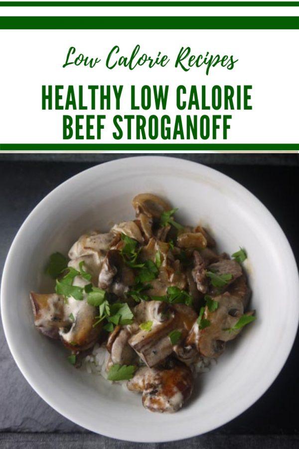 Low Calorie Beef Stroganoff - Diet Beef Stroganoff