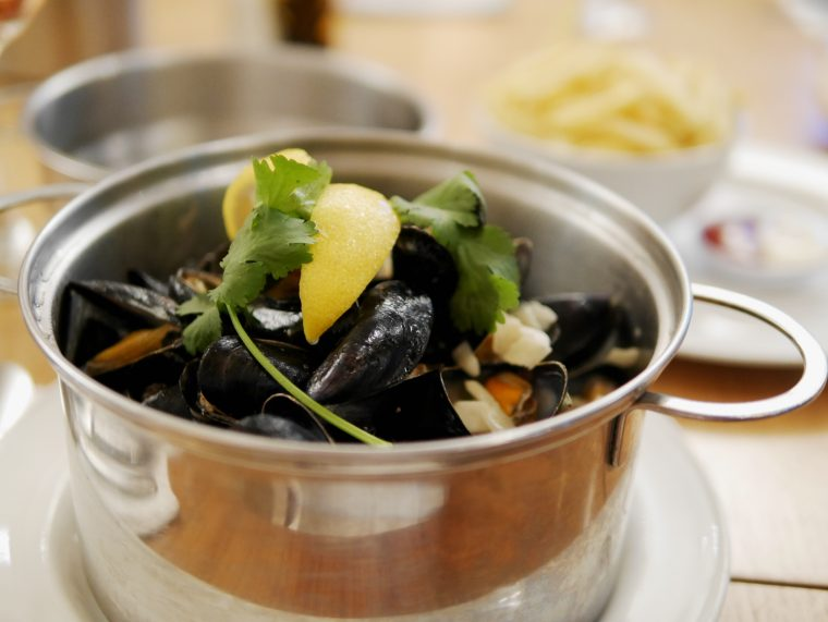Mussels - Zero Degrees Reading