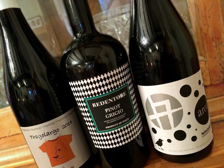 Organic Wine Selection