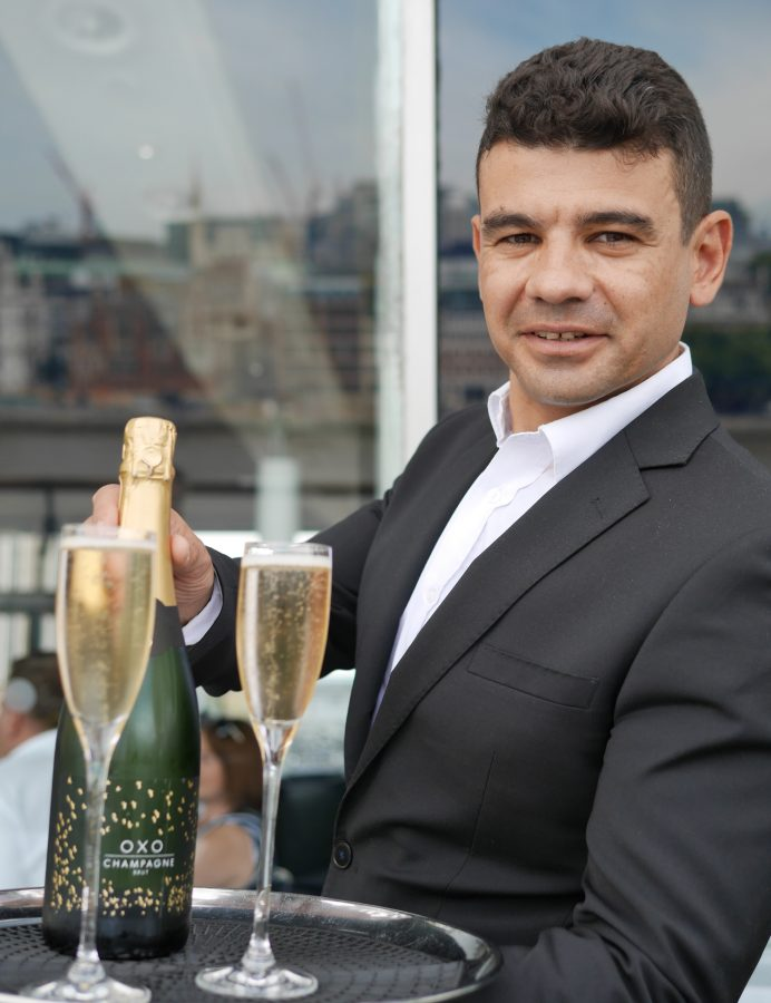 Oxo champagne