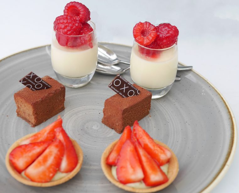 Pastries - Oxo Tower Restaurant