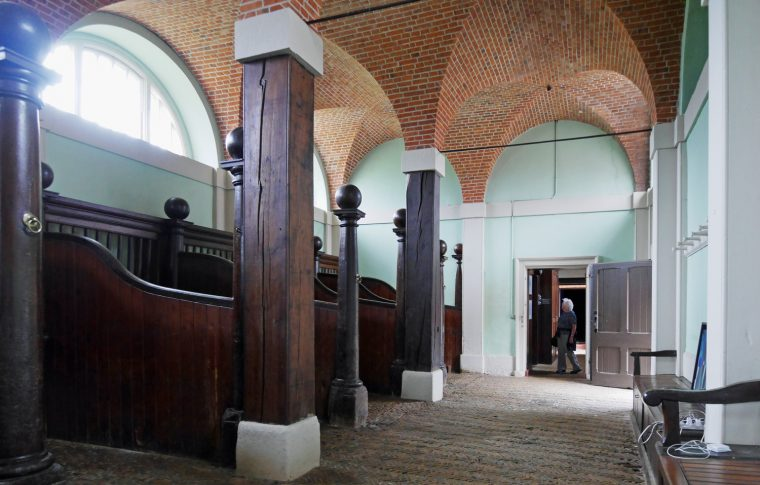 Stables housing Norfolk by Design at Houghton Hall