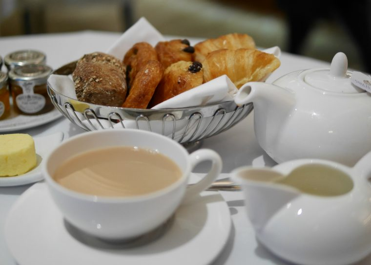 Tea and pastries - The Westbury
