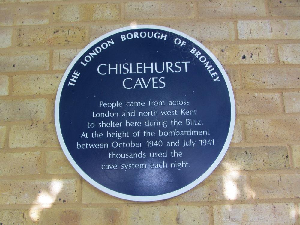 Chislehurt caves - history