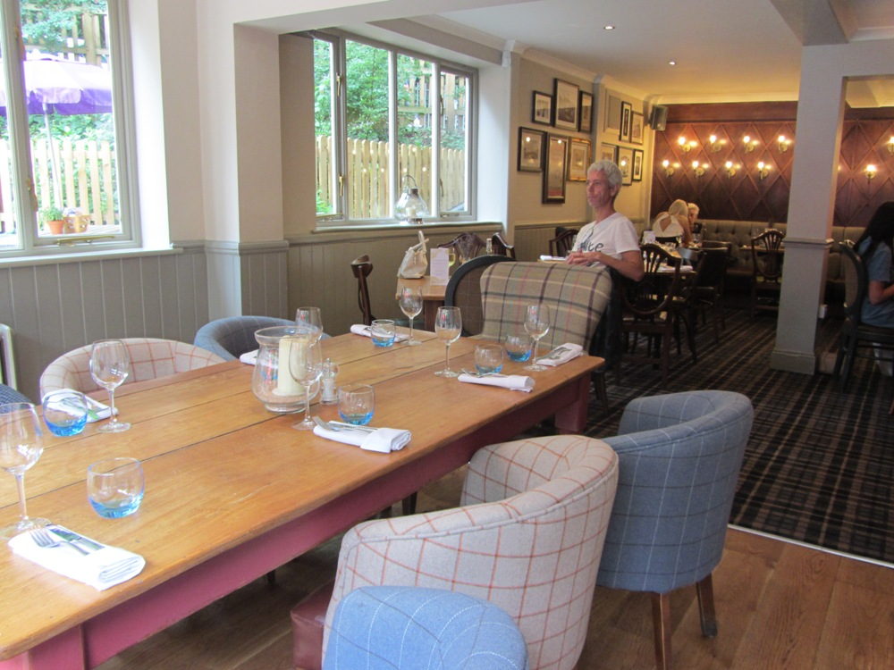 The Bickley - dining space