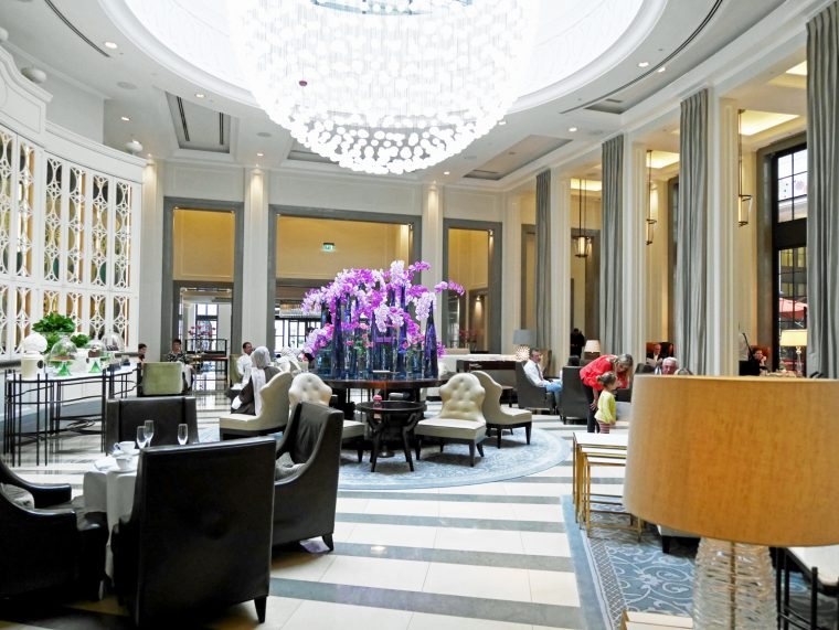 Afternoon Tea -  Crystal Moon Lounge - Corinthia Hotel