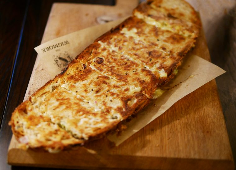 The Wigmore cheese toastie