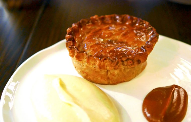 The Wigmore - pie