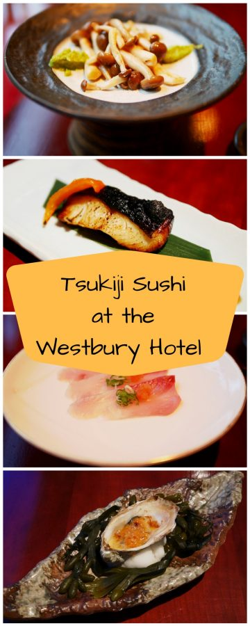 Tsukiji Sushi at the Westbury Hotel, Mayfair London - Japanese fine dining at Tsukiji Sushi