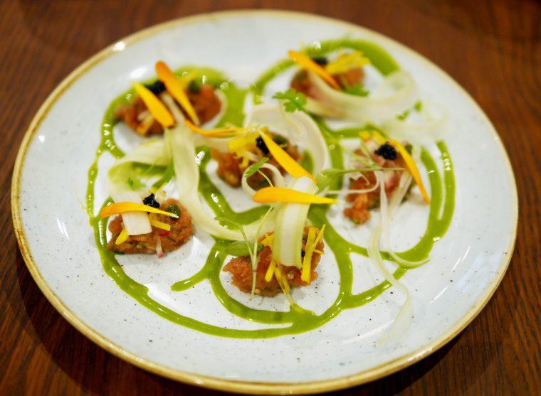 Tuna Tartare - lima Floral