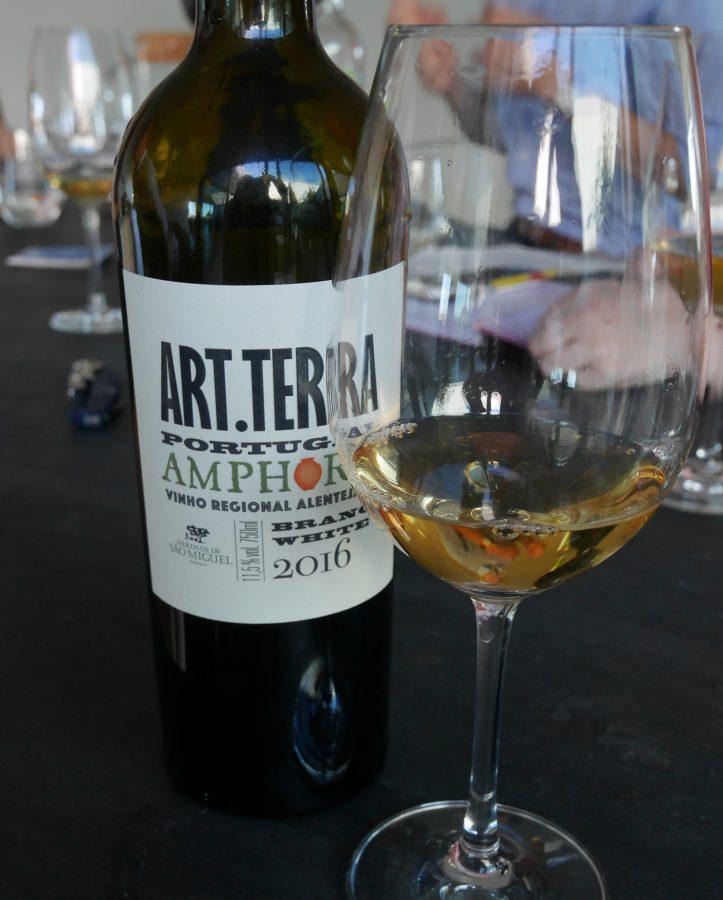 Amphora wine Herdade de Sao Miguel Alentejo