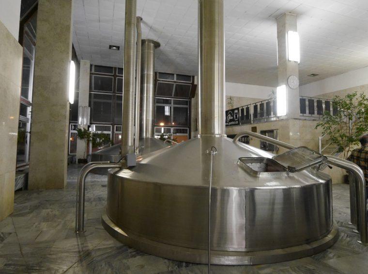 Brew tanks Brewery Pardubice