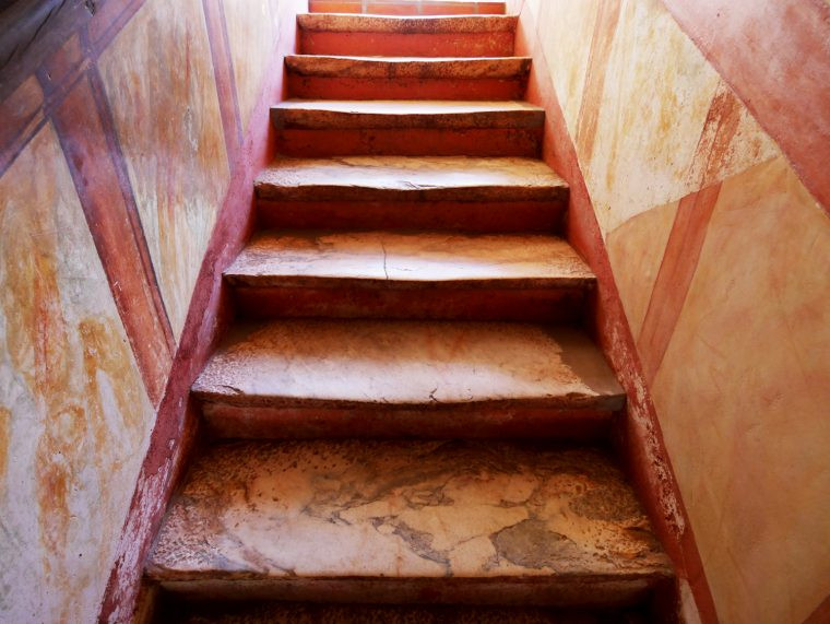 Casa do Terreiro do Poco stairs marble