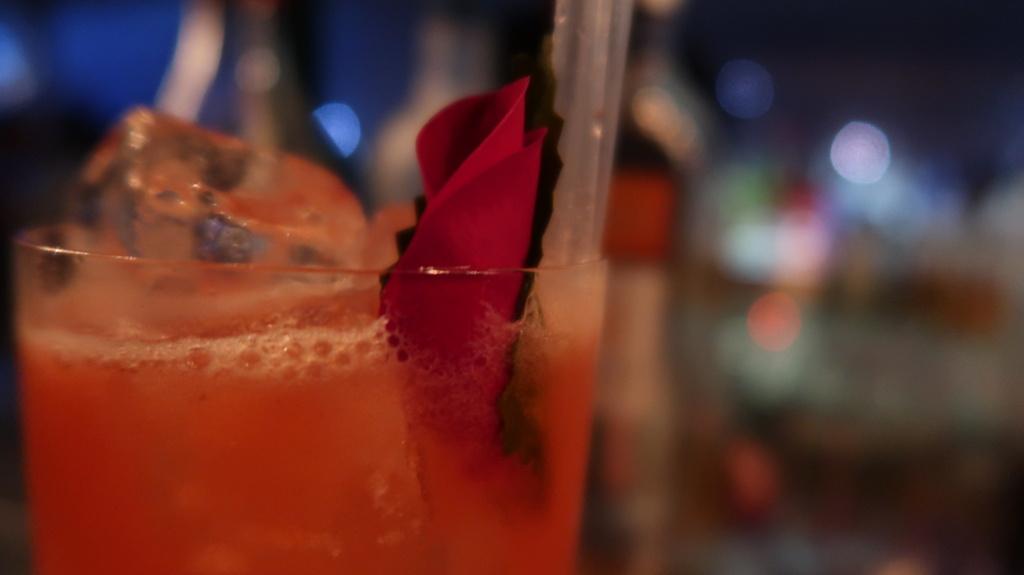 Yauatcha cocktails- Pink Tonic