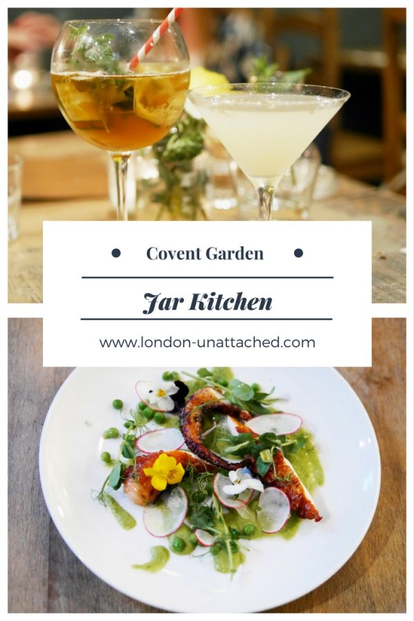 Jar Kitchen Covent Garden - English rustic style food in charming surrounding - Jar Kitchen Review