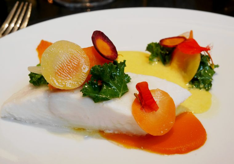 La Dame de Pic Halibut - London restaurants