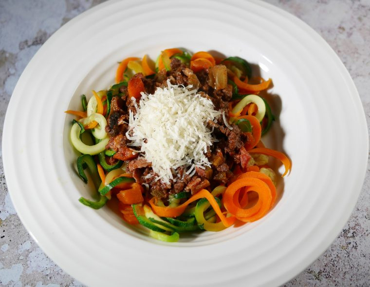 Low Calorie Spaghetti Bolognese