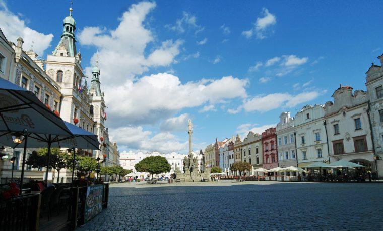 Pardubice Town Square - London-Unattached Travels Czech Republic
