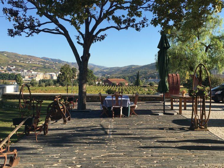 Terrace Quinta da Pacheca Wine Hotel
