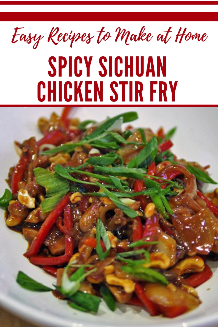 Spicy Sichuan Chicken Stir Fry