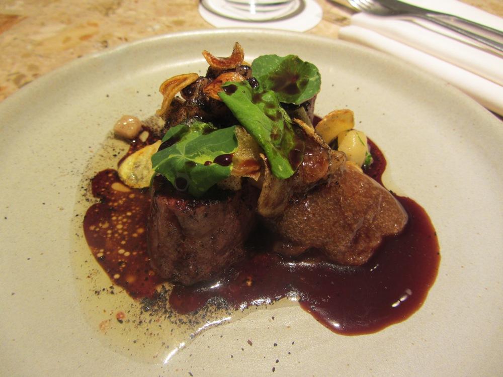 Test Kitchen - Sirloin with bone marrow