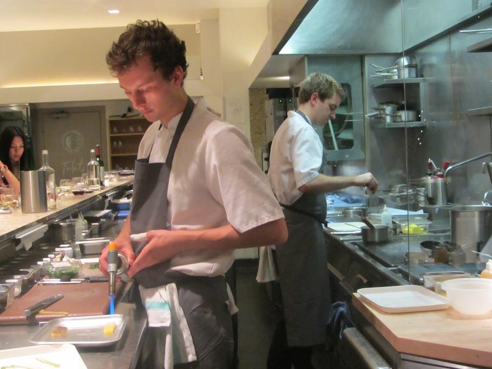 Test Kitcehn - chefs in action
