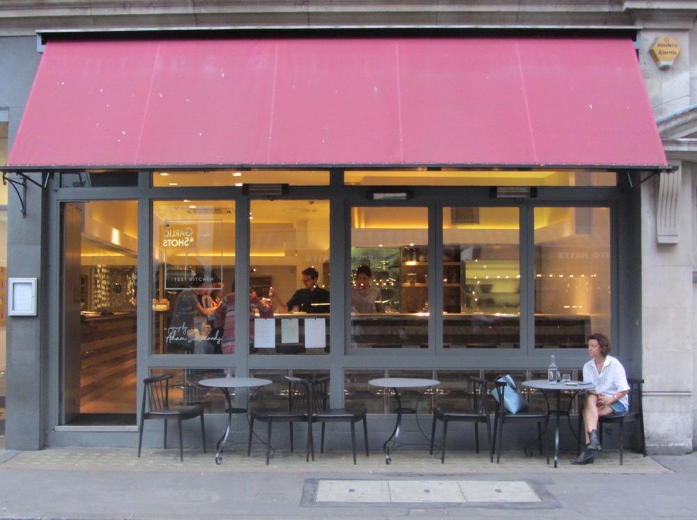 Test Kitchen - Frith Street exterior