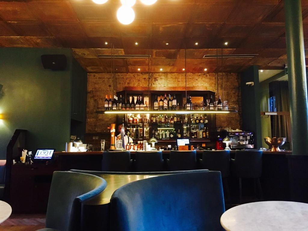 The Century Club bar 2