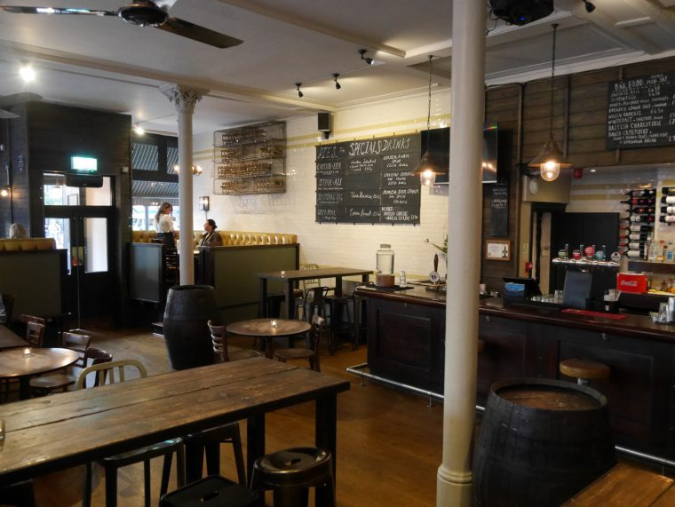 The Tommyfield Interior