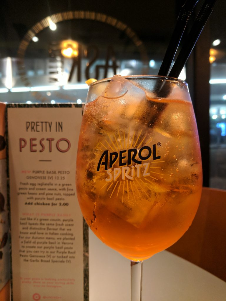 Ask Italian Aperol Spritz