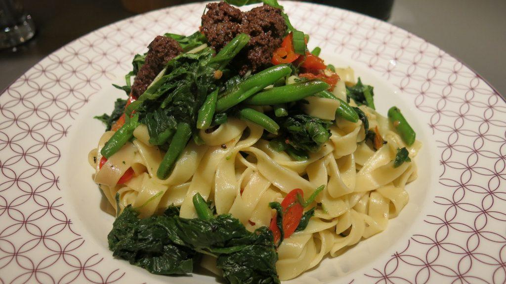 Ask Italian Vegan Fettucine Con Verdure