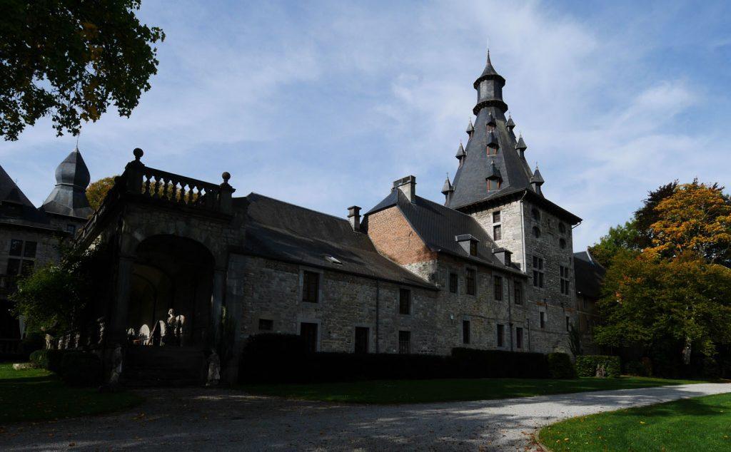 Belgium Wallonia Chateau de Bioul