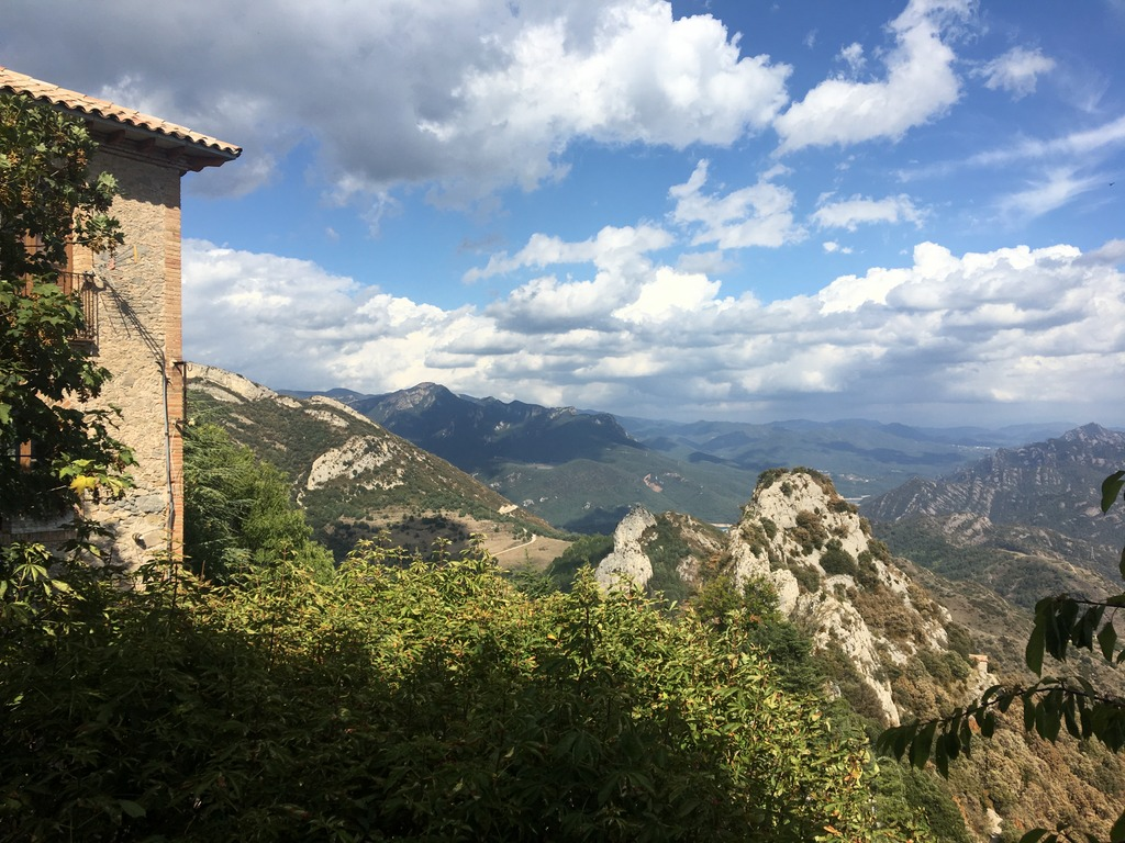 Berguedà - view - Catalonia
