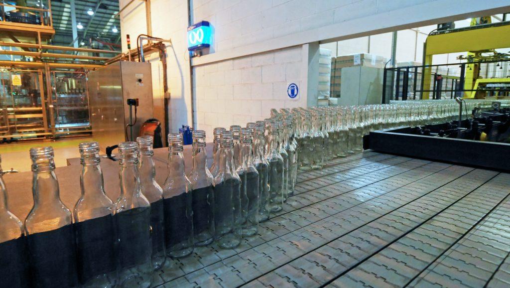 Bottle line at Greenalls