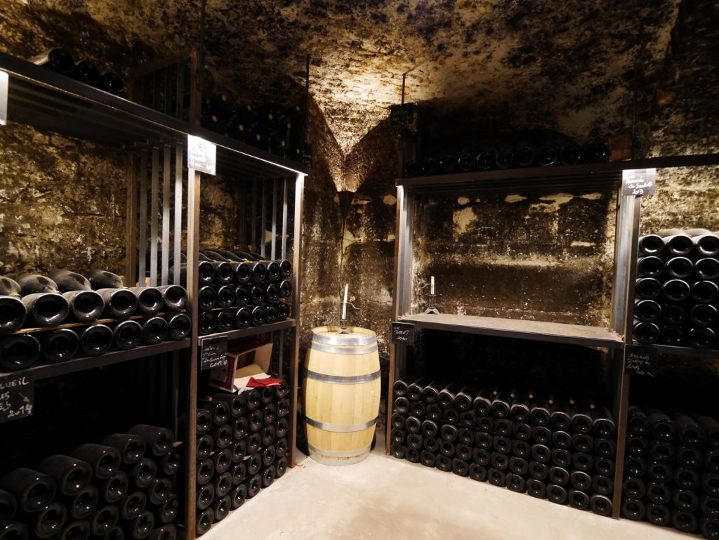 Cellars of Grafé Lecocq & Fils