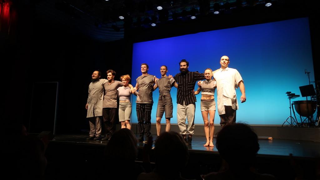 Chämaleon Theatre's - Parade curtain call
