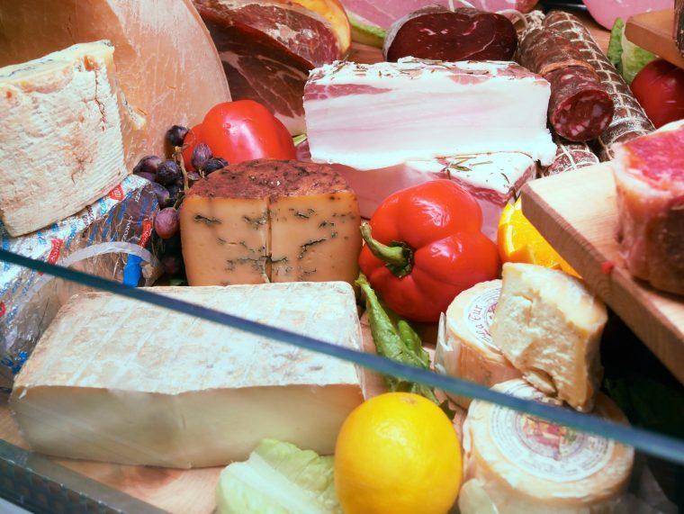 Cured meats Lardo Macellaio