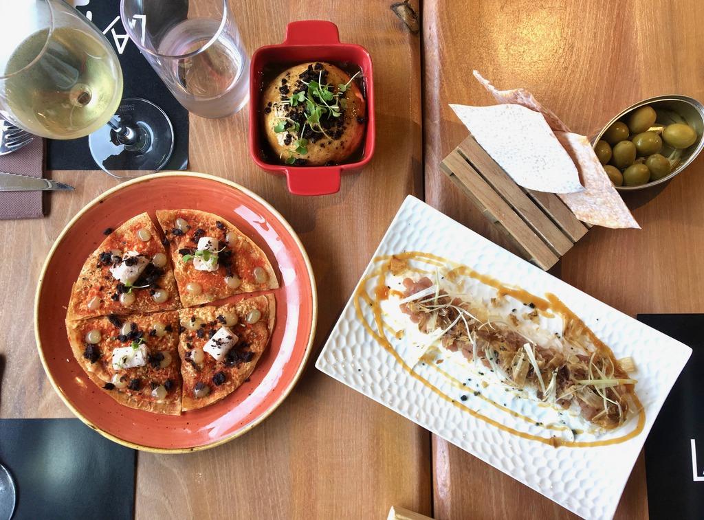 Destil·leria restaurant - lunch selection