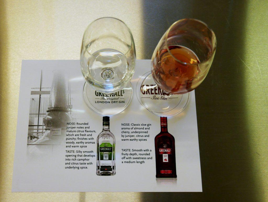 Greenalls Gin Tasting